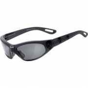 Helly Sonnen-Brille Helly Bikereyes Black Angel-tribal Motorradbrille Black smoke schwarz