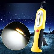 Lanterna / Lampa Lucru / Camping / Auto Galben cu Led COB SMD 3W