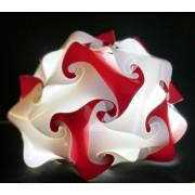 Lampadesign.com Lampada moderna colorata di design da comodino MINIPUFFO diam. 21 h 19 cm MONTATA colori a scelta