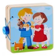 HABA® Livre bébé en bois 'Les bébés Animaux' HABA® - Jouets Haba