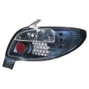Stopuri cu LED Peugeot 206 CC 3/5 usi 2NFU/2RFN/29HZ 99-05 negru