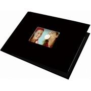 UNIBOOK Album 15x20cm com janela 12 Páginas Autocolantes Preto (destock)