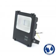 MasterLed - Projetor LED quadrado 20W PLANO - MasterLed