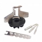 ZHAOYAO afilador de sierra de cadena accesorio afilador adaptador de taladro guia para dremel taladro accesorios rotativos