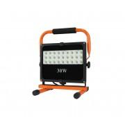 LED proiector exterior cu suport LED/30W/230V negru