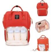 Rucsac multifunctional, geanta mamici-organizator Ganen Baby, True Red