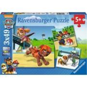 Puzzle RavensBurger Patrula Catelusilor 3x49 Piese