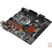 AsRock H110M-HDV R3.0, Intel H110, VGA by CPU, PCI-Ex16, 2xDDR4, VGA/DVI/HDMI/USB3.0, mATX (Socket 1151)