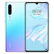 Gooplayer para Huawei P30 6.1 Pulgadas OLED FHD Desbloqueado teléfono Celular Dual Sim (Azul, 8GB + 256GB)