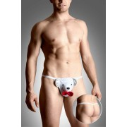 Softline Teddy Bear G String Underwear White 4492