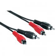 Audio Kabl 2x činč (muški) - 2x činč (muški), 2.5m, HAMA 43319