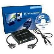 Външна видеокарта за едновременна работа на 2 монитора с DVI вход- MATROX-D2G-A2D-IF