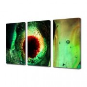 Tablou Canvas Premium Abstract Multicolor Gheata In Culori Decoratiuni Moderne pentru Casa 3 x 70 x 100 cm