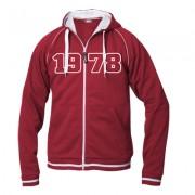 geschenkidee.ch Jahrgangs-Jacke für Frauen rot, Grösse XL