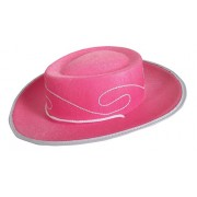 Jacobson Hat Company Child's Embroidered Permafelt Cowboy Costume, Pink, Small