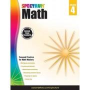 Spectrum Math Workbook, Grade 4 by Spectrum