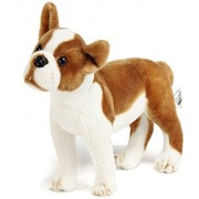 VIAHART 16 Inch Boxer Dog Stuffed Animal Plush   Baldric the Boxer