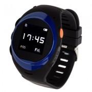 GARETT Smartwatch GPS2 Czarno-niebieski