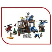 Lego Конструктор Lego City Полицейский участок в горах 60174