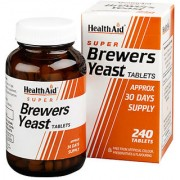 HealthAid Super Brewers Yeast - 500 Tablets