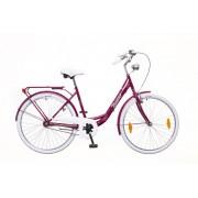 Neuzer Balaton Prémium 26 1 seb. városi kerékpár Padlizsán