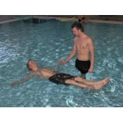 Vízenlebegés watsu hydroterápiás átlátszó támasz-Aqua cuddle (3db/szett)