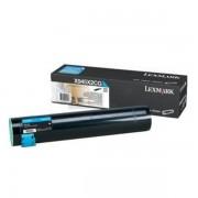 Lexmark Originale X 940 E Toner (X945X2CG) ciano, 22,000 pagine, 0.17 cent per pagina - sostituito Toner X945X2CG per X 940E