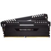Corsair Vengeance RGB LED 32Gb(16Gb x 2) DDR4-3333 (pc4-26666) CL16 1.2v Desktop Memory Module with Black heatsink