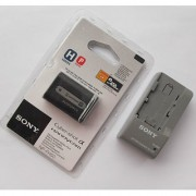 Sony NP-FH50 Battery BC-TRP Charger SR65 TG1 SR60 SR300 UX20 HC96 SR90