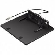 HAMA Notebook stalak sa dva ventilatora, USB 39796