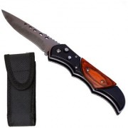 Prijam Knife Sb-97 Foldable Pocket Knife With Led Torch Blade Size 10 (cm)