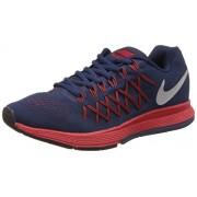 Nike Men's Air Zoom Pegasus 32 Blue and Red Running Shoes - 7 UK/India (41 EU)(8 US)(749340-010)