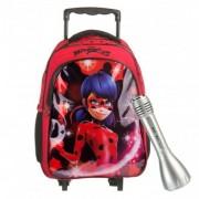 Miraculous Ladybug ghiozdan Troller Oval cu microfon