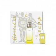 Hermes Le Jardin de Monsieur Li Унисекс Комплект - EdT 100 ml + боди лосион 40 ml + душ гел 40 ml + мини edt 7,5