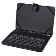 Универсален калъф с жична клавиатура HAMA 182501, 10.1 инча, OTG, черен, HAMA-182501