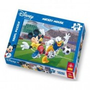 Puzzle Mickey si Donald la footbal 100 pcs Trefl
