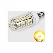 Maiz Luz Corn Light LED E14 108 X 3528 SMD Blanco Cálido