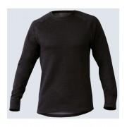 GINA Uni tričko s dlouhým rukávem 88014-MxCMxG Černá-šedá XS