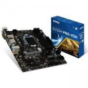Дънна платка MSI B250M PRO-VDH, B250, LGA1151, DDR4, PCI-E