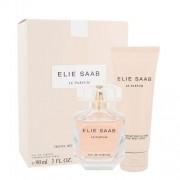 Elie Saab Le Parfum zestaw Edp 90ml + 75ml Body lotion dla kobiet