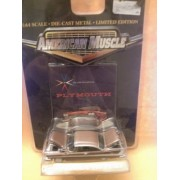 American Muscle 1:64 Scale Die-Cast Metal 1958 Plymouth Fury