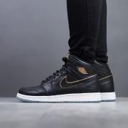 "sneakerși pentru femei Air Jordan 1 Retro High OG BG Los Angeles All Star ""Black"" 575441 031"