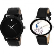R P S fashion new model to couple combo pack of 2 watch - 6 month warranty