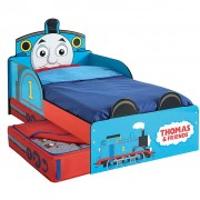 Thomas & Friends Juniorsäng med lådor 143x77x67 cm blå WORL610011