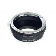 K&F Concept EOS-NEX II adaptor montura Canon EOS la Sony E-Mount (NEX) KF06.361