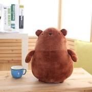 YXCSELL Dark Brown Cuddly Super Soft Plush Stuffed Animal Toys Teddy Bear Toy Doll 15 Inches Stay Cute Potato Bears