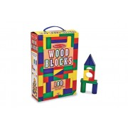 100 Wooden Blocks Set by Melissa & Doug
