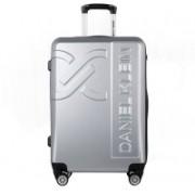 Daniel Klein Large Trolley Bag (DKL.7003.36.L) Cabin Luggage - 20 inch(Silver)