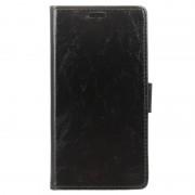 Huawei Y7 Prime Classic Wallet Case - Black