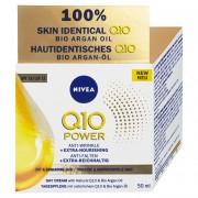 Nivea Cremă nutritivă antirid de zi Q10 OF 15 ( Anti-Wrinkle Extra Nourishing Cream) 50 ml